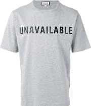 Unavailable T Shirt Men Cotton Xl, Grey