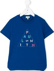 Logo Print T Shirt Kids Cotton 3 Yrs, Blue