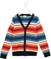 Striped Cardigan Kids Cotton 3 Yrs, Toddler Boy's