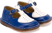 'laura Heritage' T Bar Shoes Kids Calf Leatherleather 20, Blue