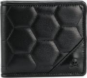 Skull Quilted Wallet