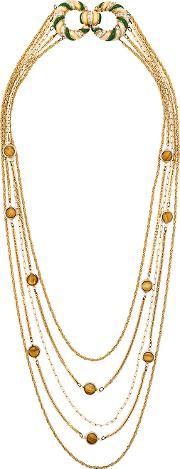 70's Layered Long Necklace