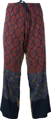 Pierre Louis Mascia Anadas Trousers Women Silkspandexelastane Xl