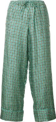 Pierre Louis Mascia Cropped Tailored Trousers