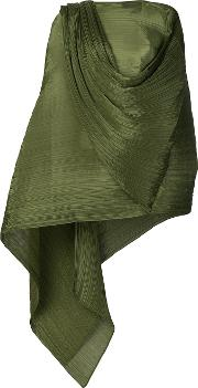 Pleated Draped Blouse