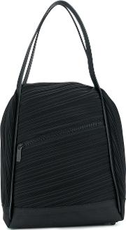 Pleated Tote Bag