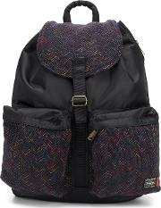 Porter Yoshida & Co Printed Foldover Backpack
