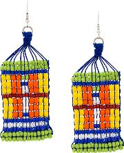1961 Beaded Earrings