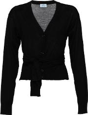 Belted Button Cardigan