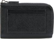 Prada Cardholder Zipped Wallet Men Calf Leather One Size, Black