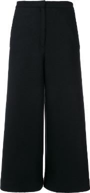 Wide Leg Cropped Culottes