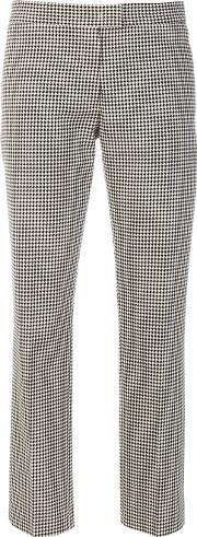Slim Fit Vichy Trousers