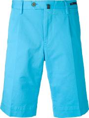Bermuda Shorts Men Cottonspandexelastane 48, Blue