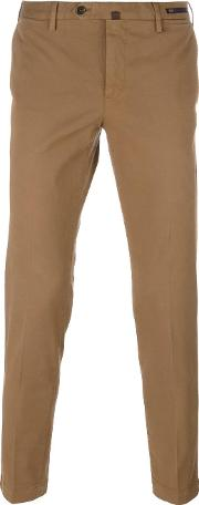 Classic Chinos Men Cottonspandexelastane 54, Brown