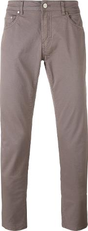 Pt01 Classic Chino Trousers Men Cottonspandexelastane 30, Grey