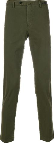 Pt01 Classic Chinos Men Cotton 50, Green