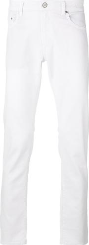 Plain Chinos Men Cottonspandexelastane 31, White