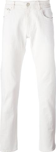 Pt05 Slim Fit Chinos Men Cottonspandexelastane 38, White