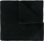 Knit Scarf Men Cashmere One Size, Black