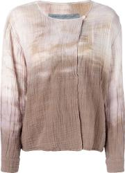 Gradient Cardigan Women Cotton 2, Women's, Brown