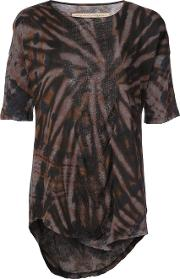 Printed Fitted Blouse