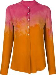 Tie Dye Button Blouse