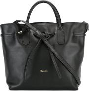 Trapeze Tote Women Leather One Size, Black