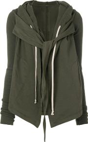 Tie Front Hooded Cardigan