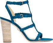 'addison' Sandals Women Calf Leathersuede 37