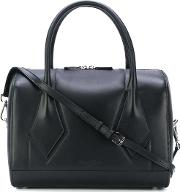 Robert Clergerie Mellien Bowling Tote Women Cottoncalf Leather One Size, Black