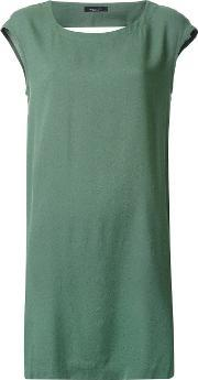 'military' Dress Women Viscose Xs, Women's, Green