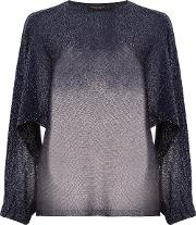 Roberto Collina Loose Fit Jumper Women Polyesterviscose M, Blue