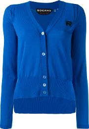 Knitted Cardigans Women Cotton 42, Blue