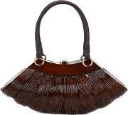 Collette Classic Large Tote Women Wood One Size