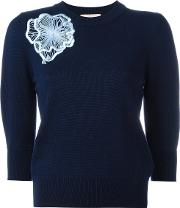 Morena Jumper Women Wool M, Women's, Blue