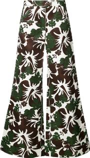 Floral Print Palazzo Trousers Women Cottonviscose 4