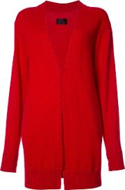 Cashmere Distressed Cardigan Women Cashmere S, Red