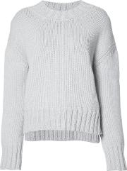 Loose Fit Jumper Women Woolcashmere Xs, Grey