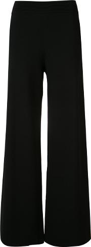 Palazzo Pants Women Polyesterviscose Ml, Black