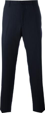 City Fit Tailored Chinos Men Wool