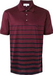 Gancio Striped Polo Shirt