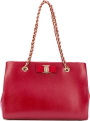 Melike Tote Women Calf Leather One Size, Red