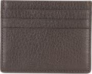 Fosull Cardholder Men Calf Leather One Size, Brown