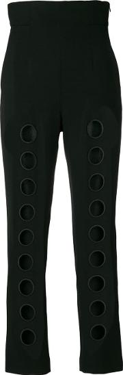 Cut Out Detail Trousers