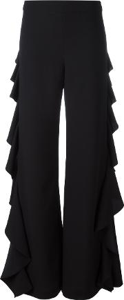 Ruffled Sides Trousers