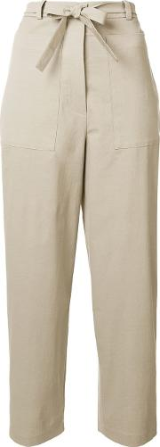 Oversize Tapered Trousers