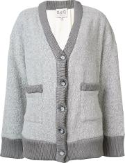 'legend' Cardigan Women Silkwool L, Women's, Grey