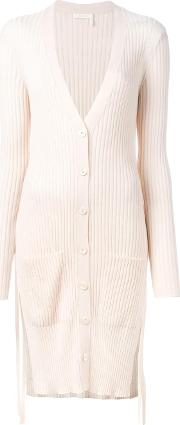 Ribbed Mid Cardigan Women Wool S