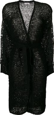 See By Chloe Lace Applique Belted Cardigan