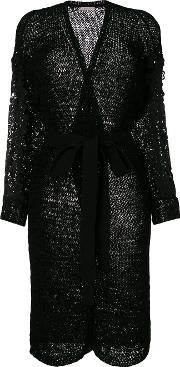 See By Chloe Lace Trim Robe Cardigan